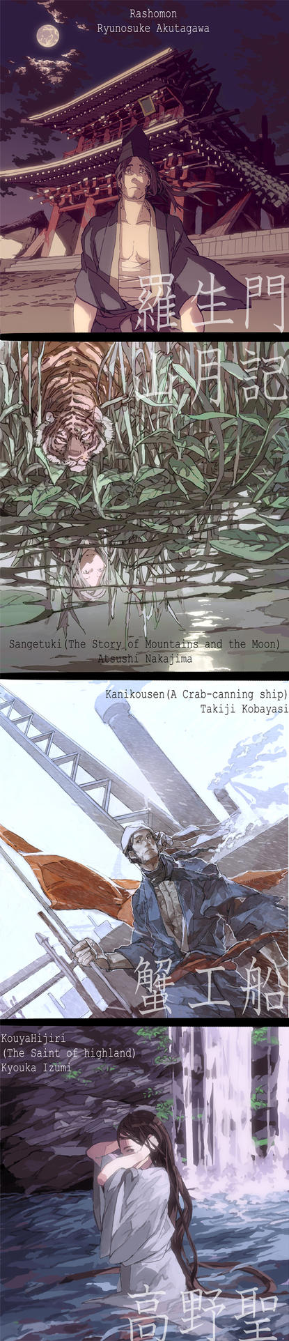 Perspectives of Japanese Modern Literature by hira-geco