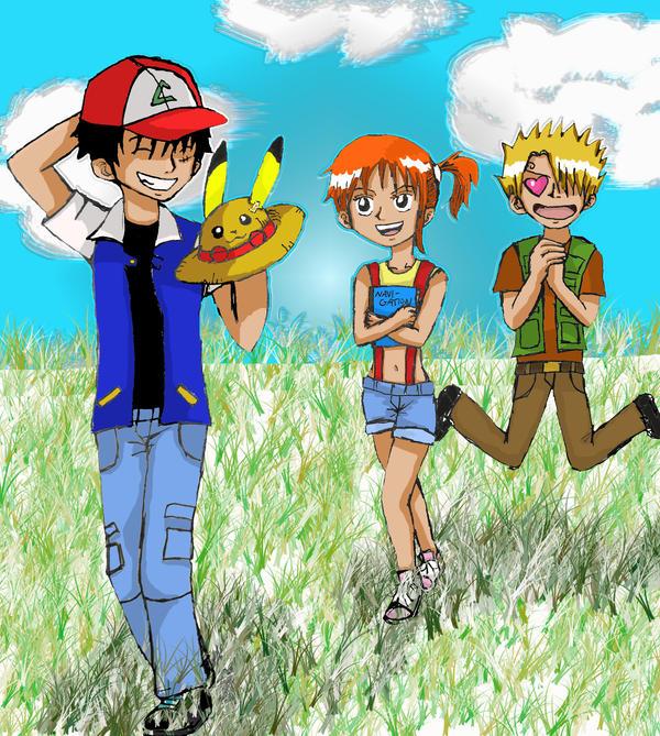 Pokemon Cosplay - One Piece by CodeNameZimbabwe