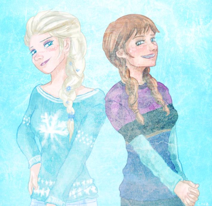Frozen - Sweaters by CodeNameZimbabwe