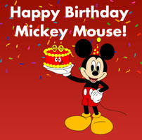 Happy Birthday Mickey Mouse by amos19
