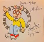 Day 21: Arthur Read