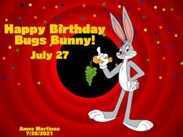 Happy Birthday Bugs Bunny (2021)