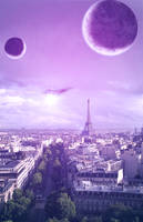 Moons of Paris by pedrozsa