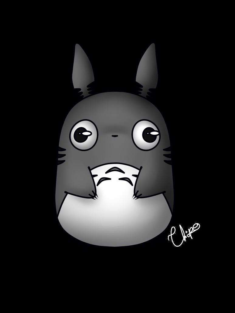 Totoro Kawaii by ChipoHD