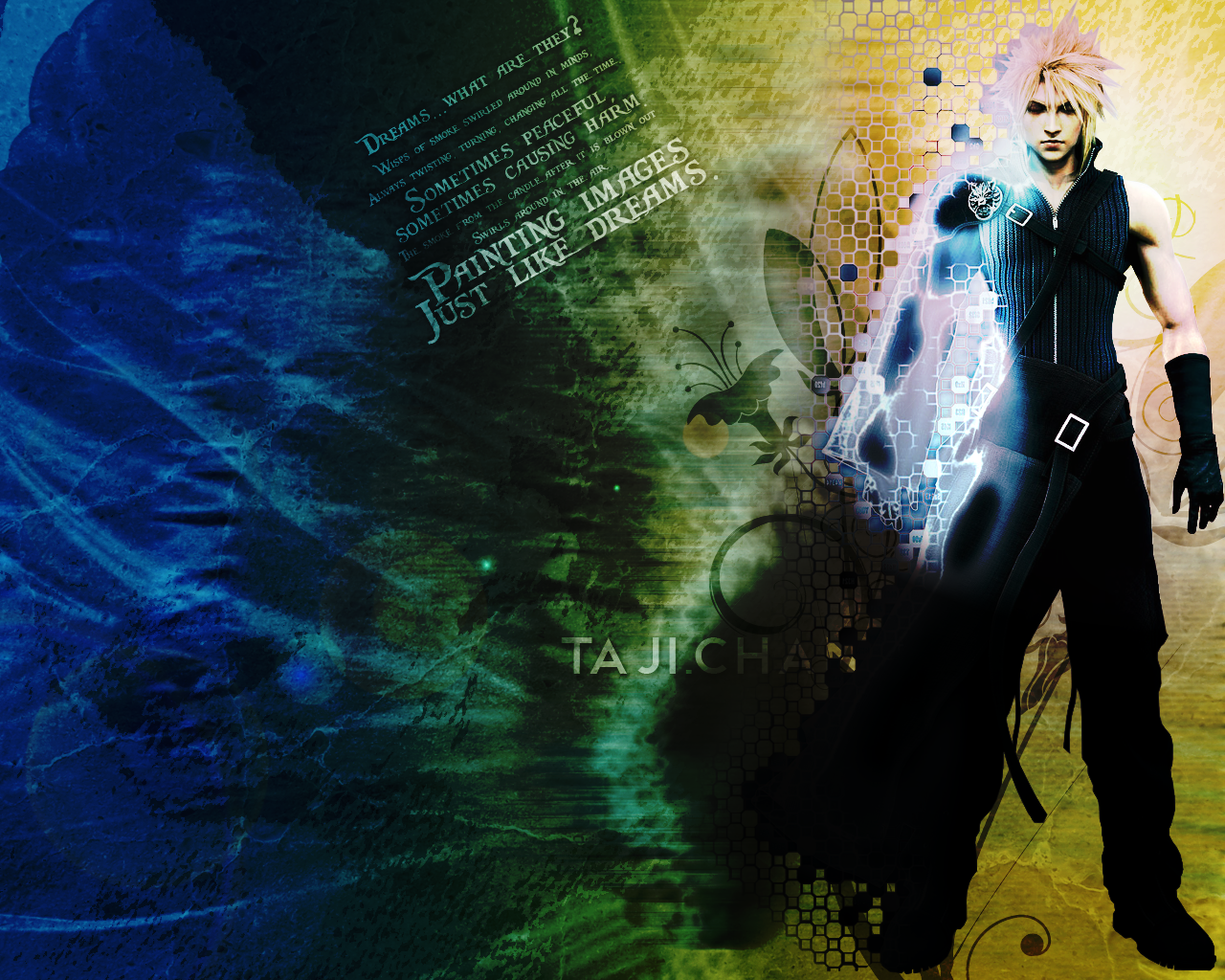 cloud strife wallpaper v2 by scpyrus on deviantart