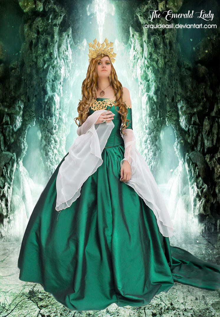 The Emerald Lady by OrquideaArt