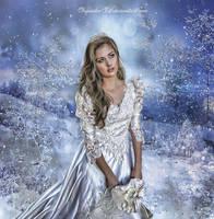 Winter Princess by CarmensArts