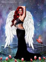 My Beautiful Angel by CarmensArts