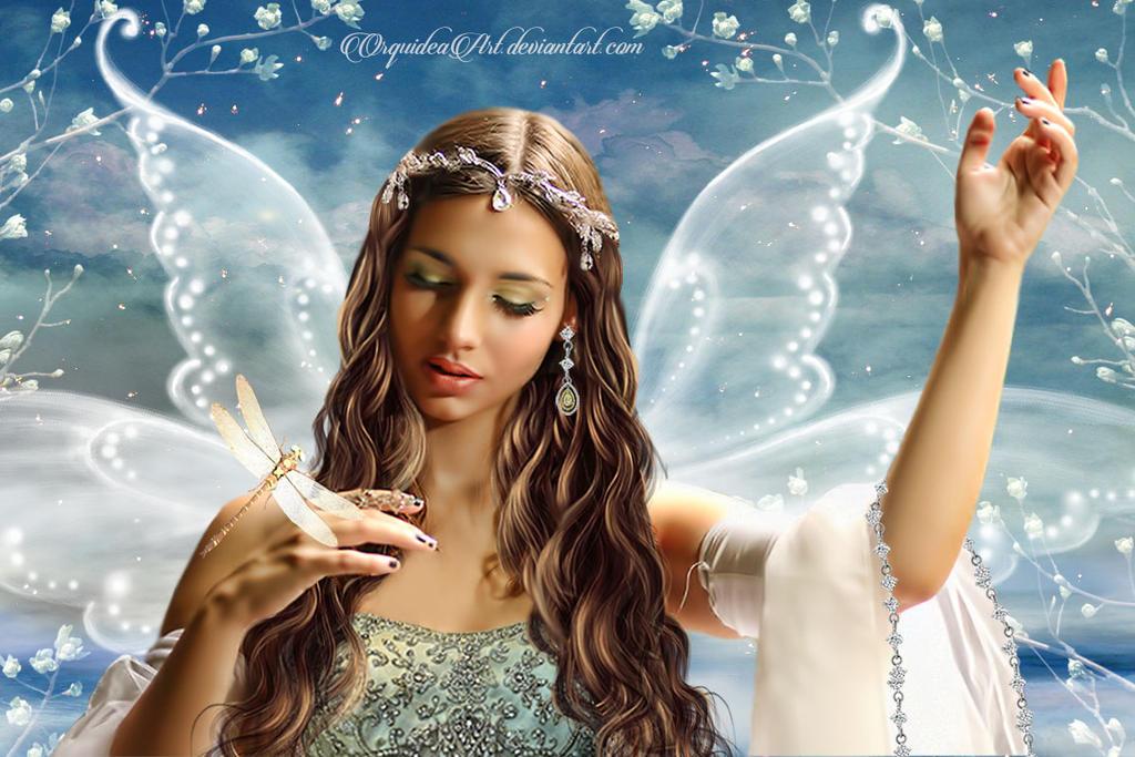 Fairy of desires by OrquideaArt