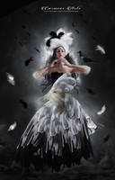 Bird Woman by CarmensArts