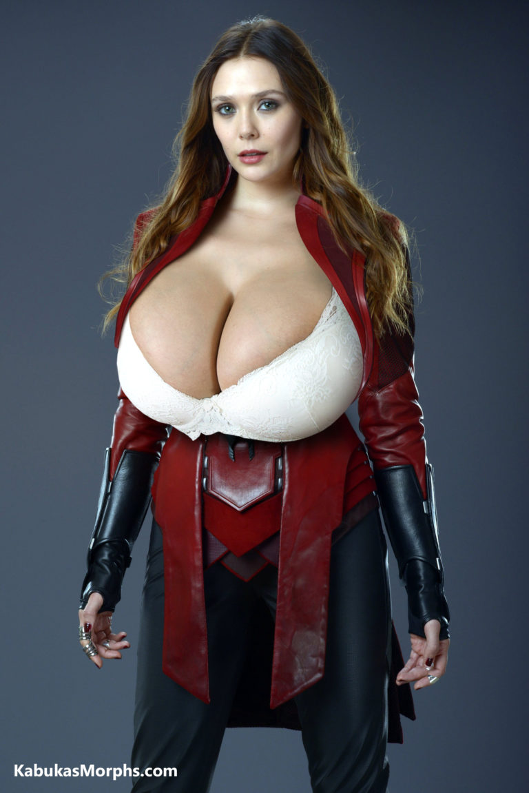 Elizabeth Olsen As Scarlet Witch Huge Tits Bra By Kabuka34 -2149