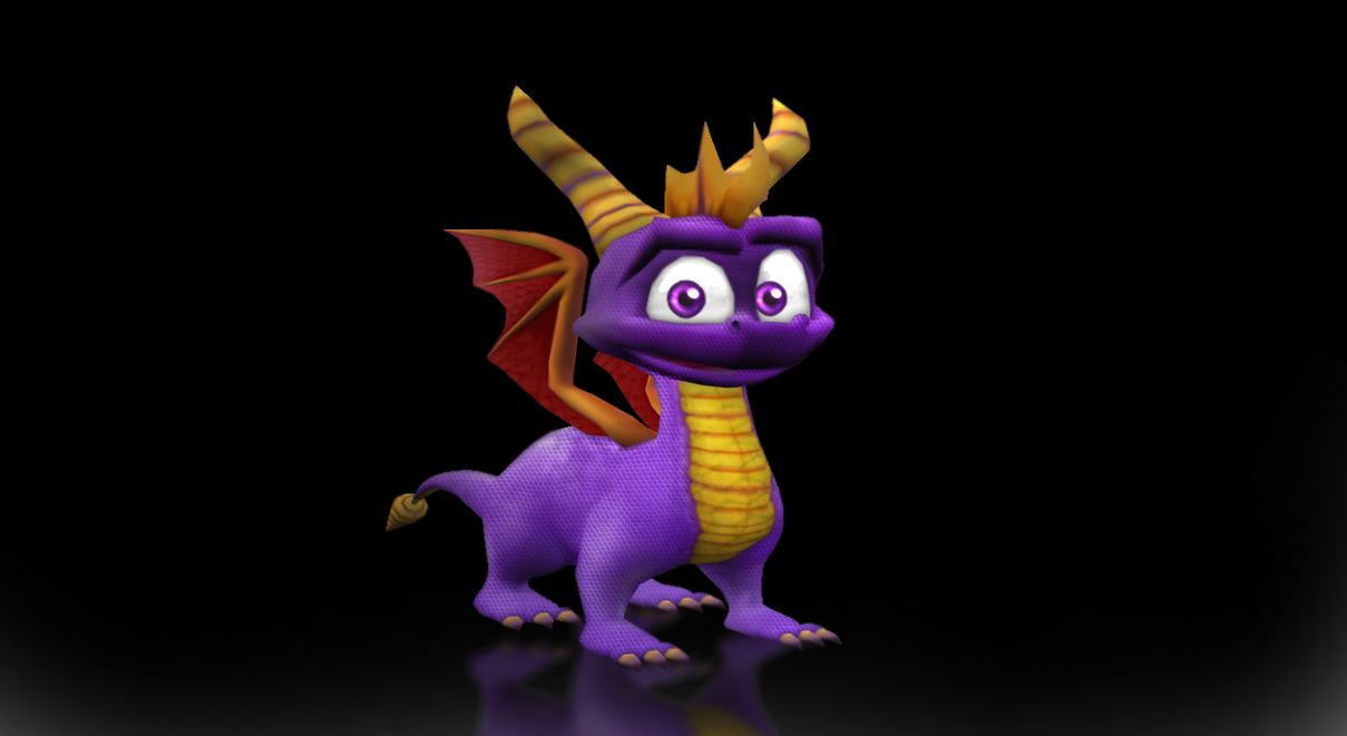 Spyro PS Render by MeStarStudios