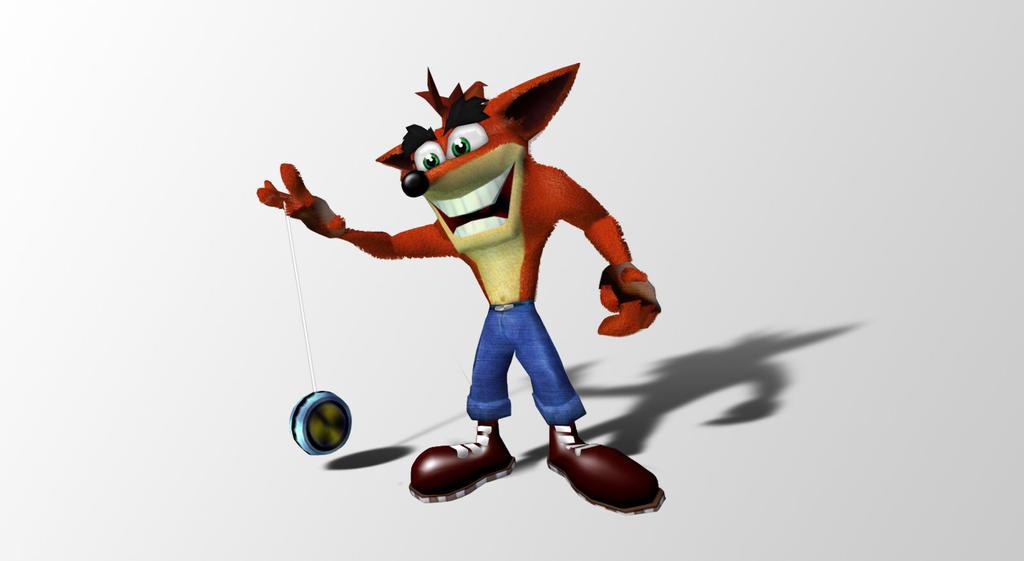 Crash Bandicoot PS Render by MeStarStudios