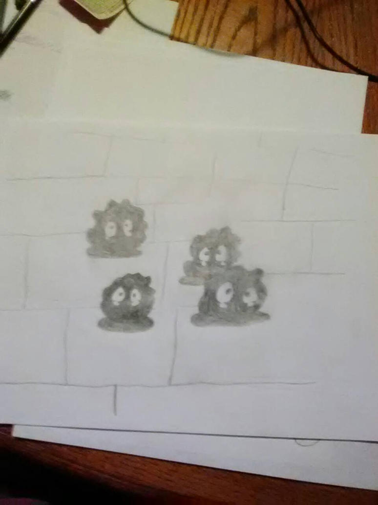 BurntMeatballs first drawing by PokemonMaster250