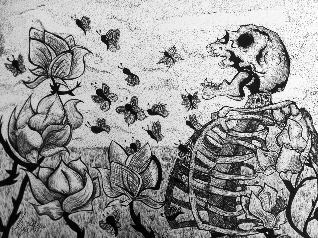Flowers of the Afterlife (PRINTS FOR SALE!!!) by WarriorWildfur