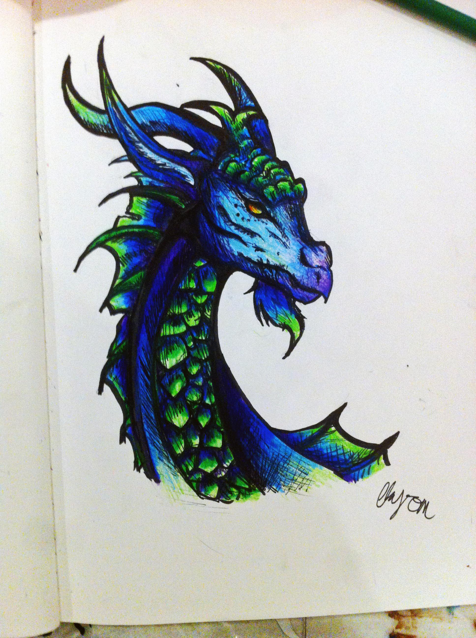 Dragon by WarriorWildfur