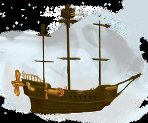 Steamhawke, the ship by Daenerys