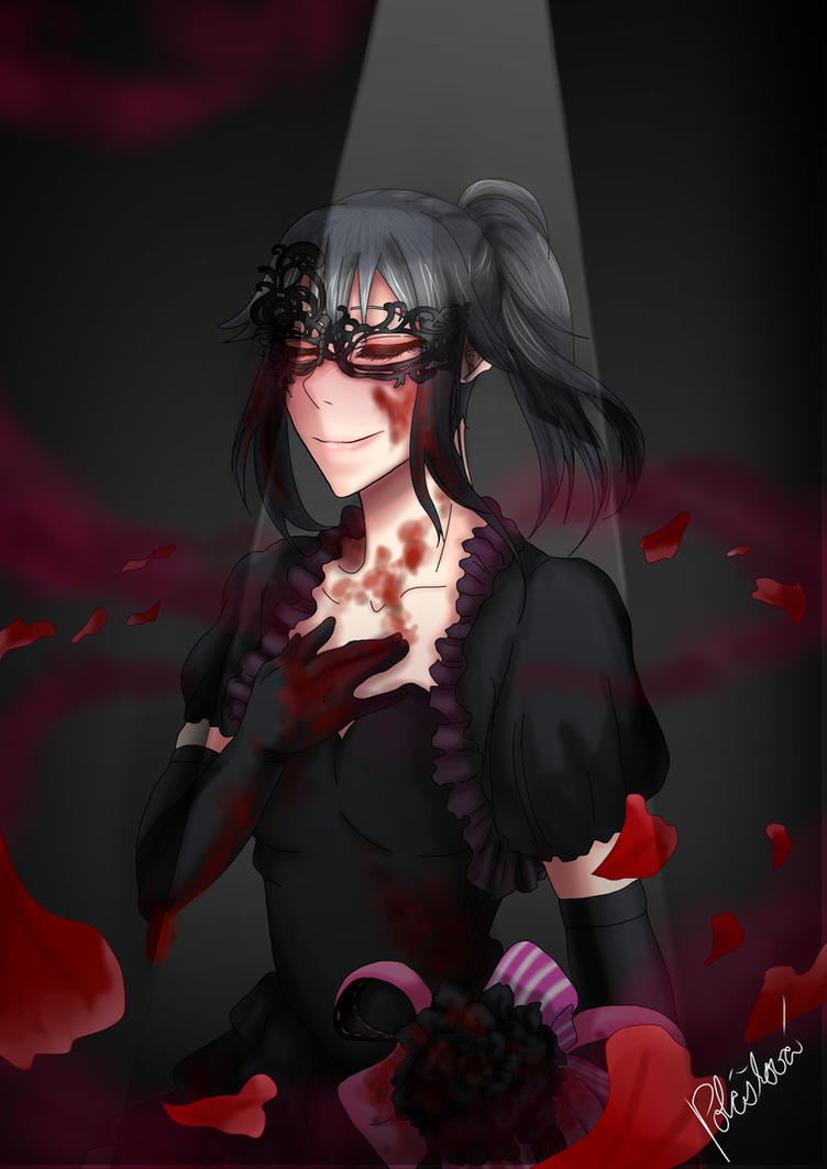 Yandere simulator- feeling under mask by satchiko1115