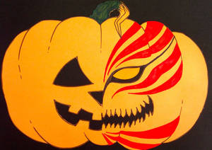 Bleach Hollow Ichigo Pumpkin