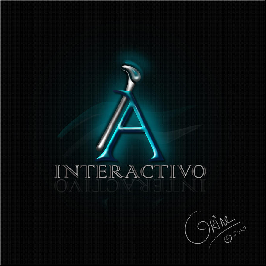 Interactivo logo sample by scrappiecoco on deviantart for Wallpaper interactivo