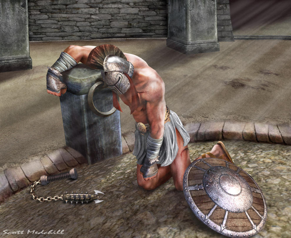 the theme of death of roman gladiators in gladiator battles Livy places the first roman gladiator featured a battle between female gladiators periods the risk of death for defeated gladiators rose from.