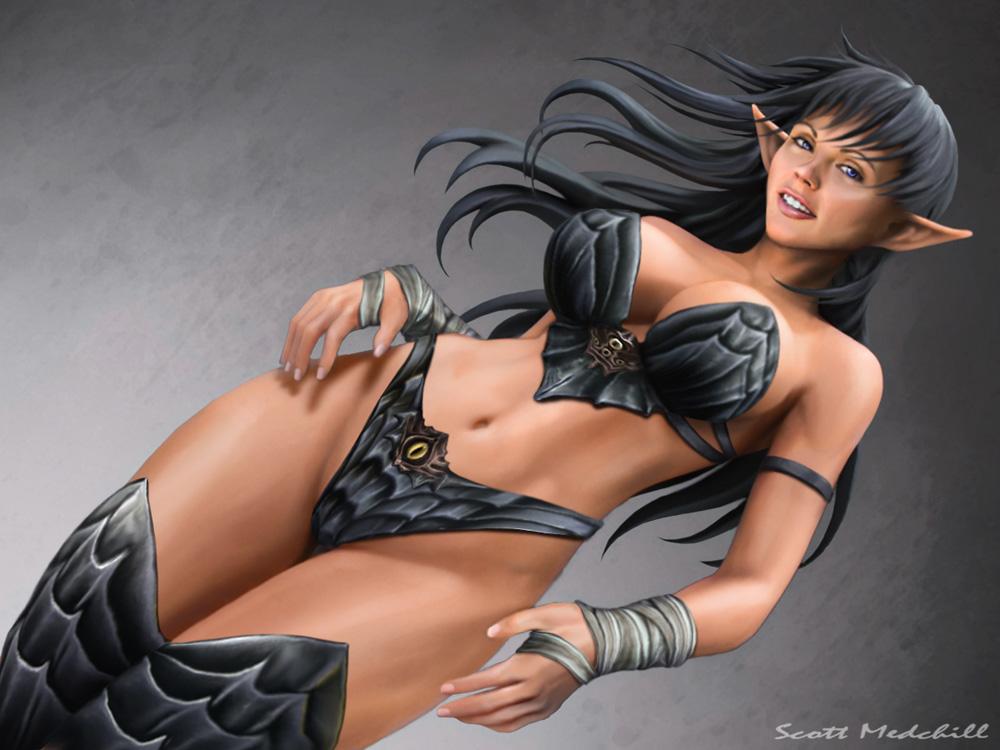 Queen nualia dark elf 3