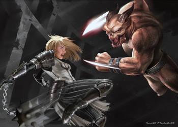 Diablo 3 Crusader by goatlord51