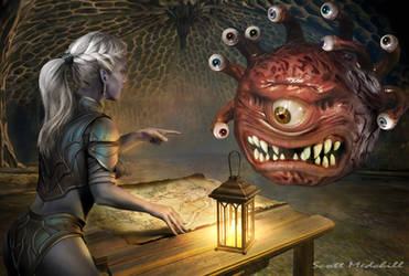 Beholder Negotiations by goatlord51