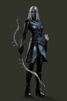 Drow Huntress