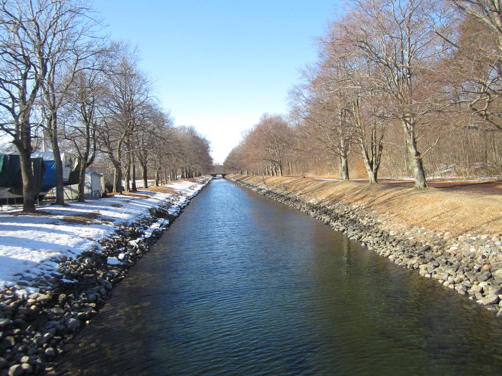 Man-made water channel by bysanlul on DeviantArt