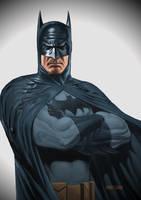 Batman by mannyclark