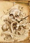 skull ship