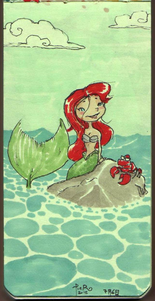 Ariel Color Sketch by Pirs4x