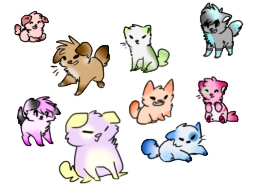 Cute Chibi Animal People