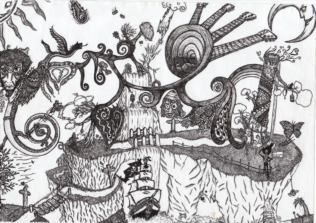 Dreamscape by Lilielo-Lawliet