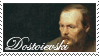 Dostoievski Stamp by waterlenna