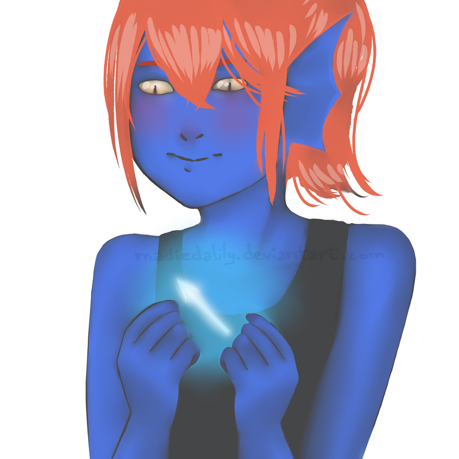Undertale - Young Undyne by MadieDalily