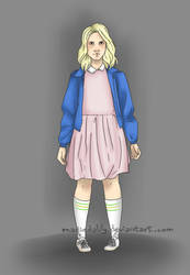 Stranger Things - Eleven vers.2 by MadieDalily