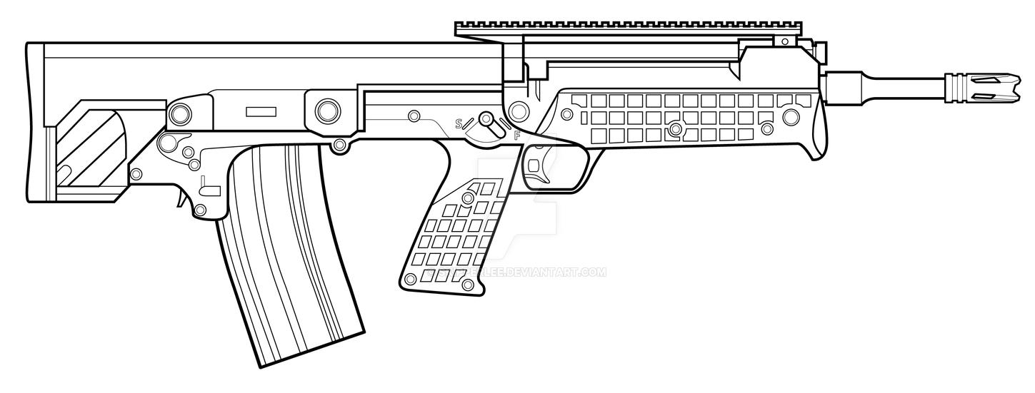 Kel-Tec RFB by SkipperLee