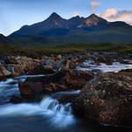 Last Light on the Skye Cuillins