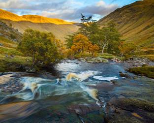 The Esk in Autumn by Greg-McKinnon