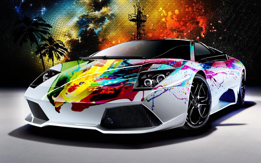 Lambo Car Wrap By LiquidstyleDS On DeviantArt - Cool lamborghini cars