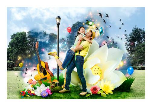 YudhaRindu - Garden of Joy