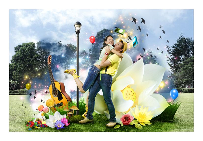 YudhaRindu - Garden of Joy by protogeny
