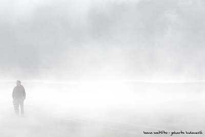 misty mountain by protogeny
