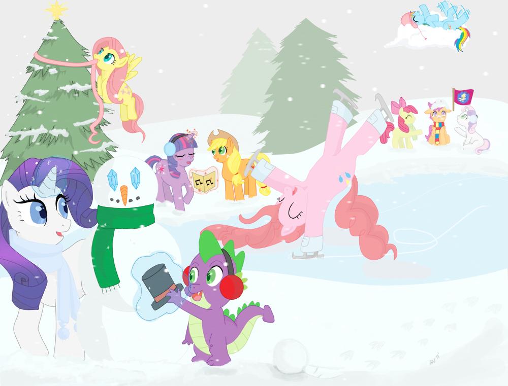MLP: FiM -- Christmas Vacation by TeenBulma