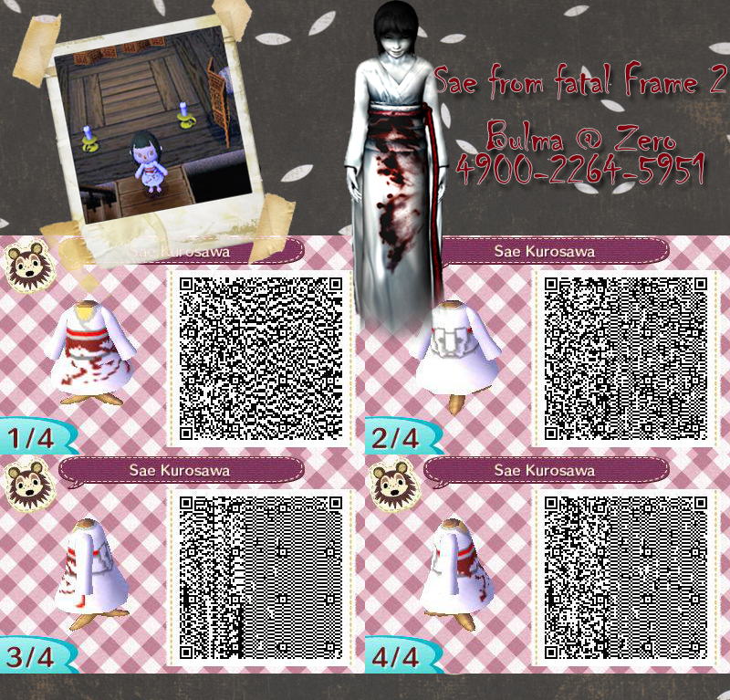 Estremamente Sae QR Code for Animal Crossing: New Leaf by TeenBulma on DeviantArt IS46