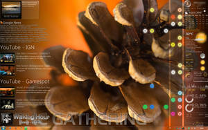 August Cone Desktop by VClouds