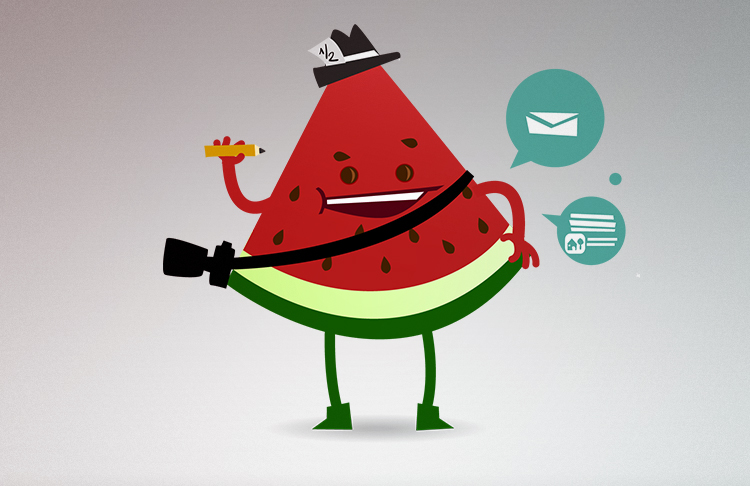 Melon character by x-m4n