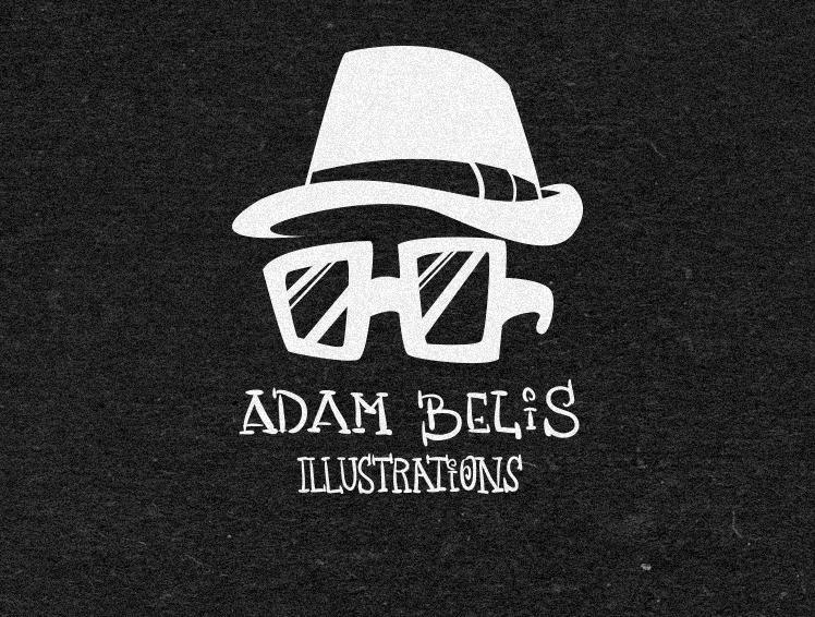 Logo Adam Belis illustration by x-m4n